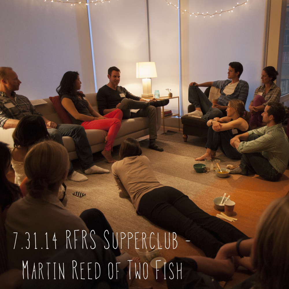 RFRS held our first ever gathering to share our vision and gather feedback from the community. It was a powerful evening of connection, inspiration and laugher. Martin Reed, a passionate pioneer in sustainable seafood shared his personal stories candidly and with an open-heart.Check outphotos from the gathering.