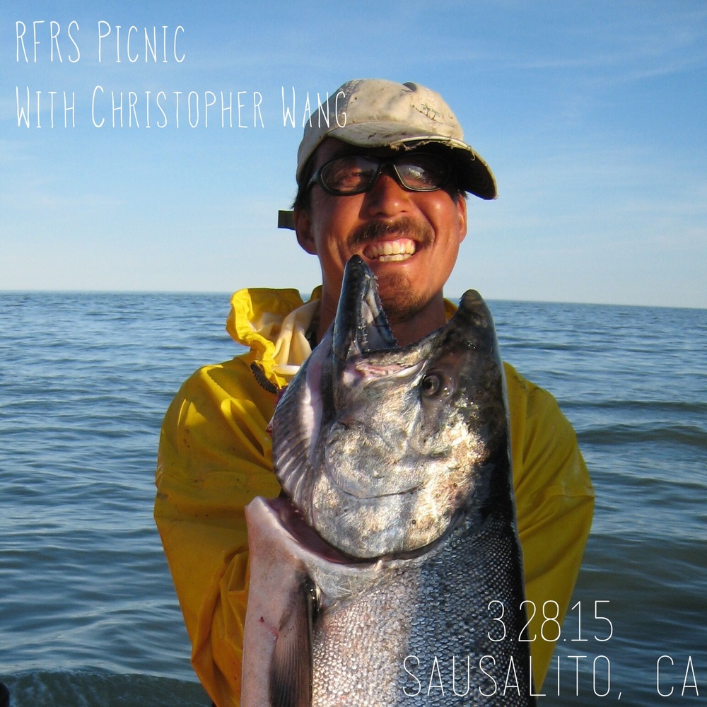 At the fist ever RFRS Picnic gathering, we are proud to feature fisherman, chef and artist Christopher Wang to share with us his journey weaving food, the open sea, and a focus on people and community into his professional and personal discovery. Christopher has been fishing in Bristol Bay every summer for ten years, living with the tides and following the fish in this giant bay in a natural rhythm - harvesting one of the last great wild food resources. Besides bringing a salmon CSA to Marin. Check out photos from the event.