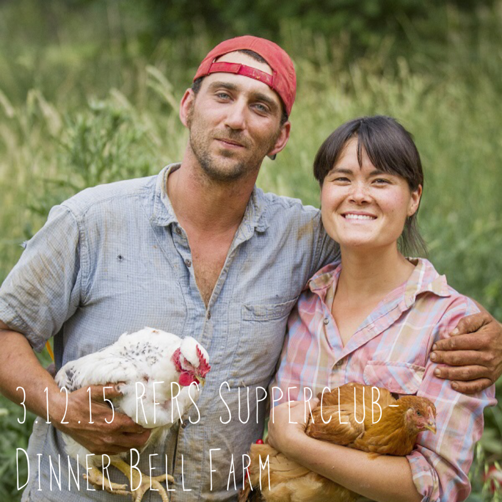 RFRS partnered with Kitchen Table Advisors and featured Molly and Paul of Dinner Bell Farm, a 30acre pasture-raised heritage pork and wedding flower farm in Grass Valley.Check outphotos from the event.