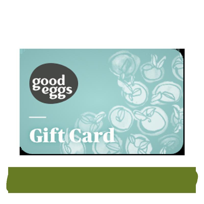 Good Eggs Gift Card