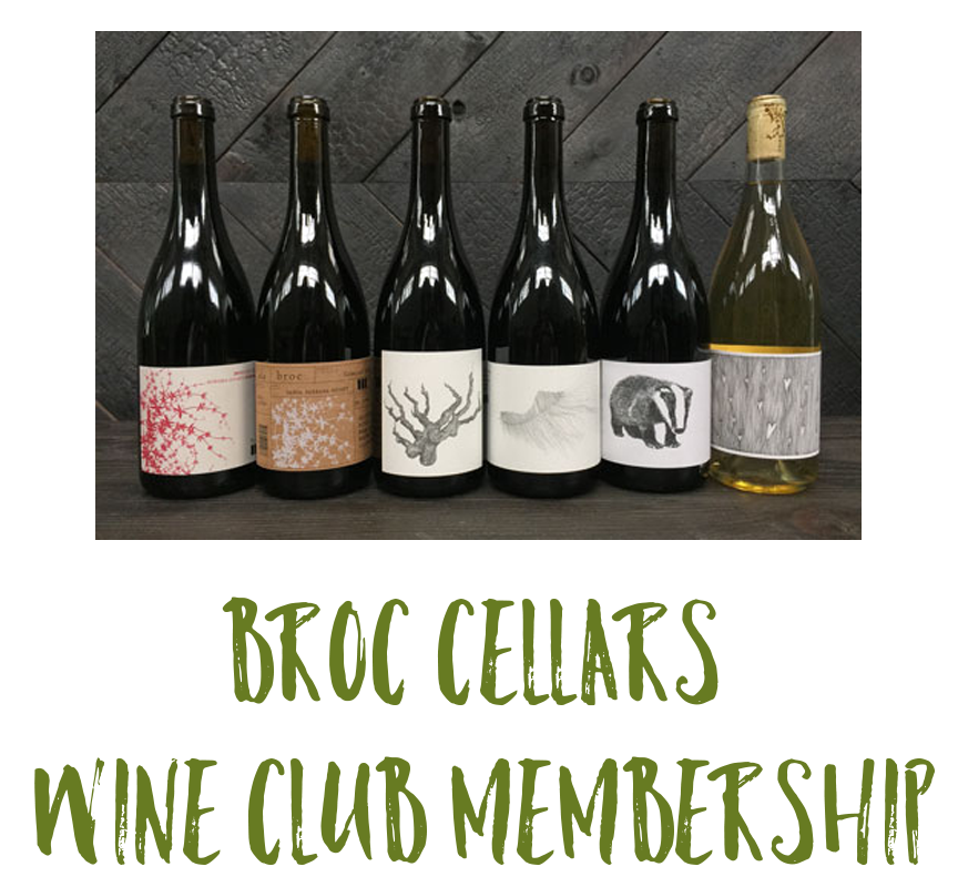 Broc Cellar Wine Club Membership