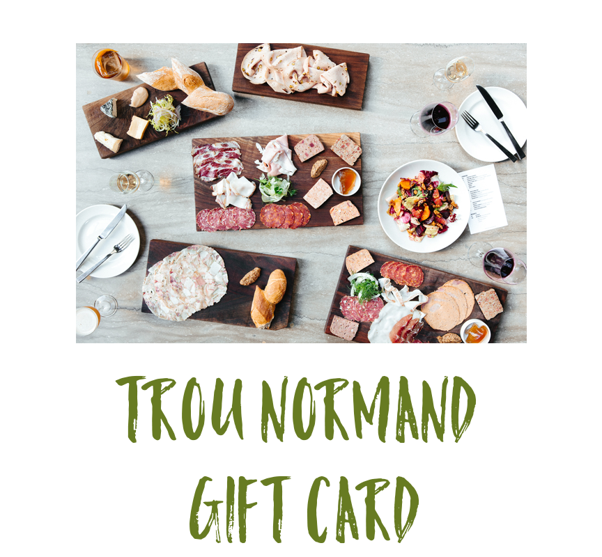 Trou Normand Restaurant Gift Card