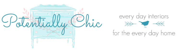 Potentially Chic | Furniture and Home Decor | Kitchen Cabinet Painters | Interior Decorating | Painted Furniture