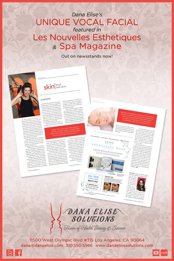 Les Nourvelles Esthetiques and Spa Magazine