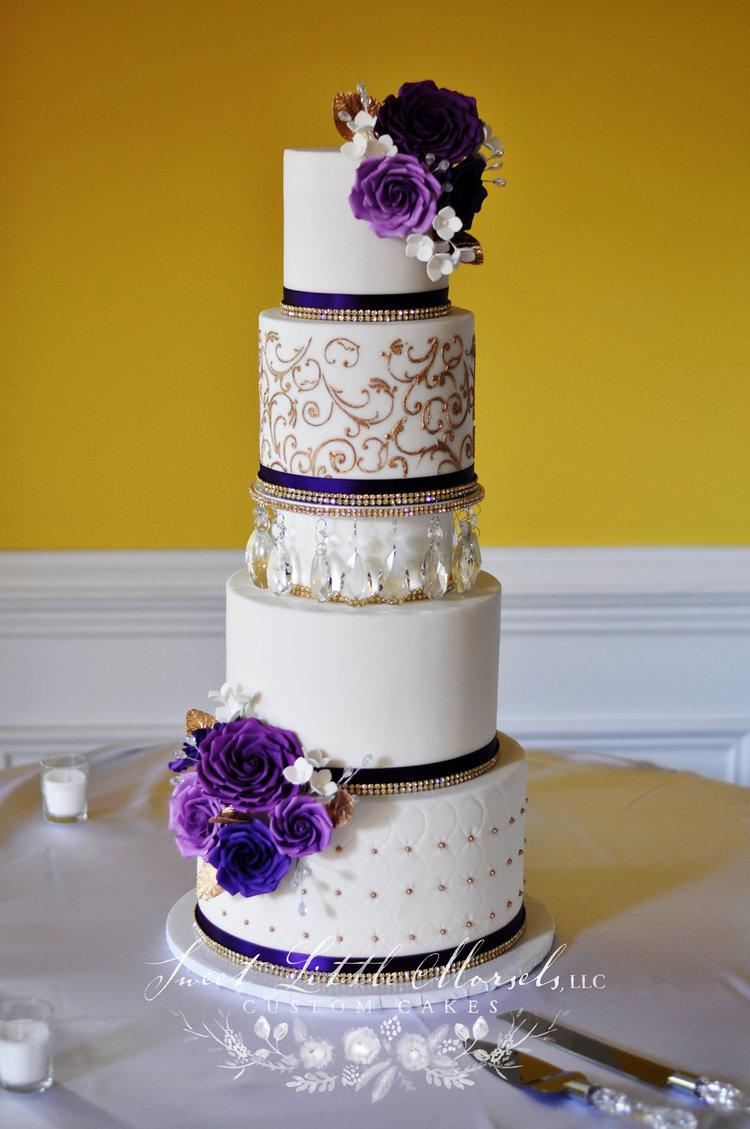 Wedding Cakes — Sweet Little Morsels, LLC