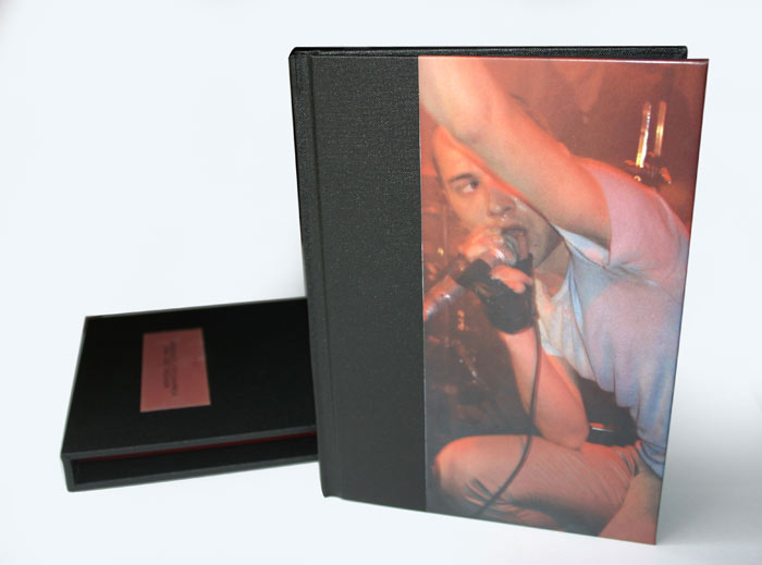 Portfolio book with matching slipcase. Photo courtesy of   Milana Photography