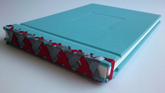 Japanese ribbon binding