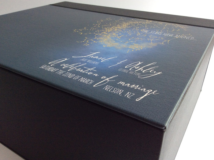 Album keepsake box