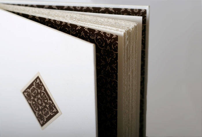 Deckled page edges