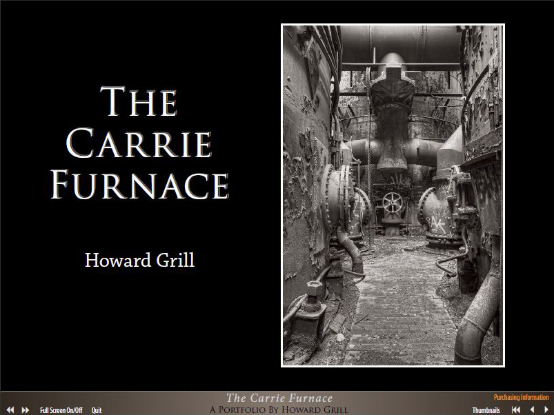 The Carrie Furnace photography eBook