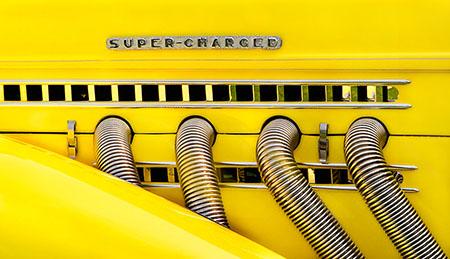 Yellow Auburn Speedster