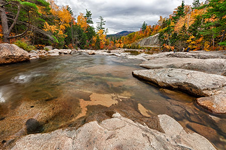 Swift River, New Hampshire, HDR Image