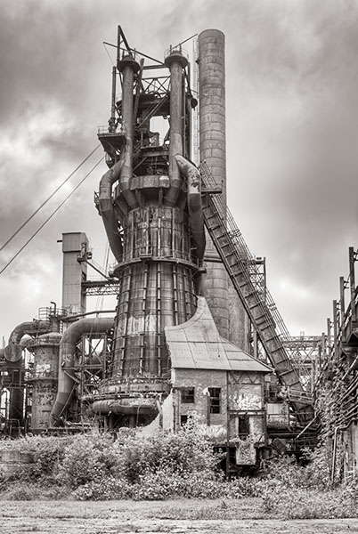 The Carrie Furnace Project By Howard Grill