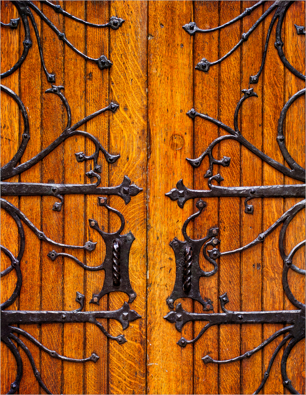 Doors of The First Presbyterian Church of Pittsburgh  © Howard Grill