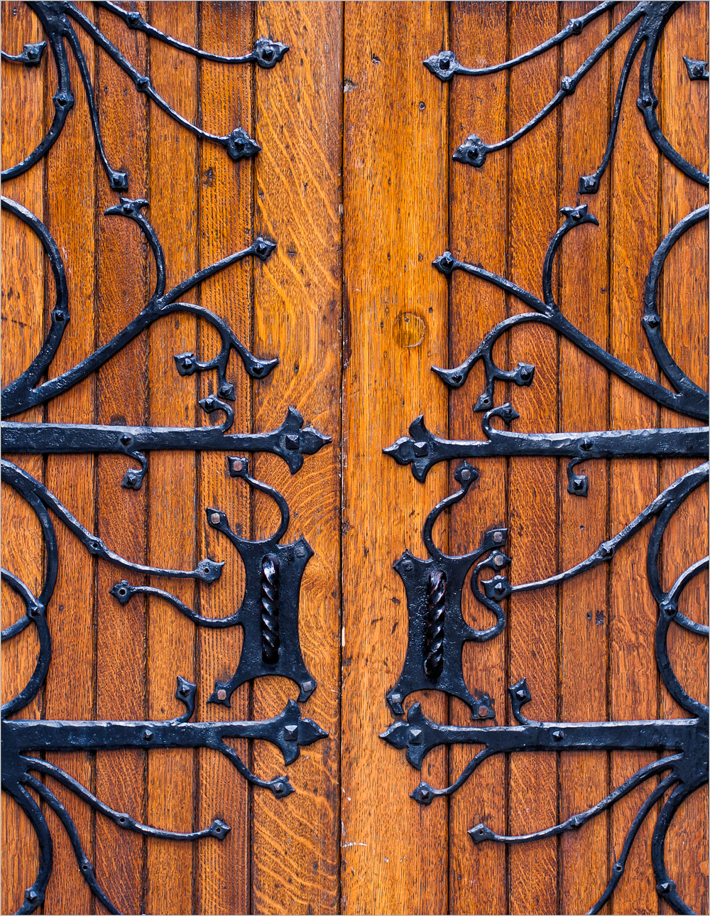 Doors of The First Presbyterian Church of Pittsburgh