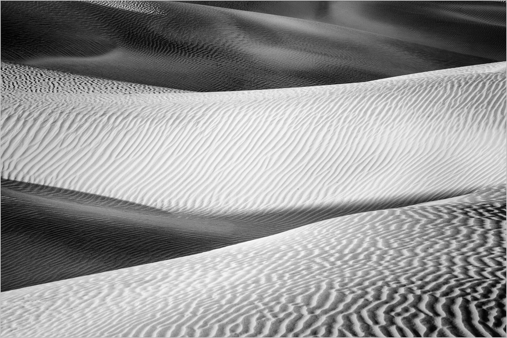 Mesquite Sand Dunes in Death Valley    © Howard Grill