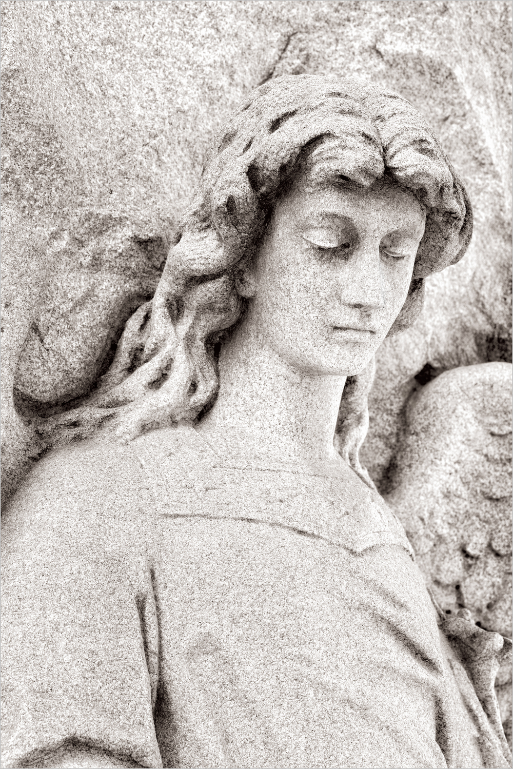 Statue , Homewood Cemetery    © Howard Grill