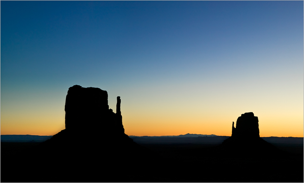 Sunset In Monument Valley    © Howard Grill
