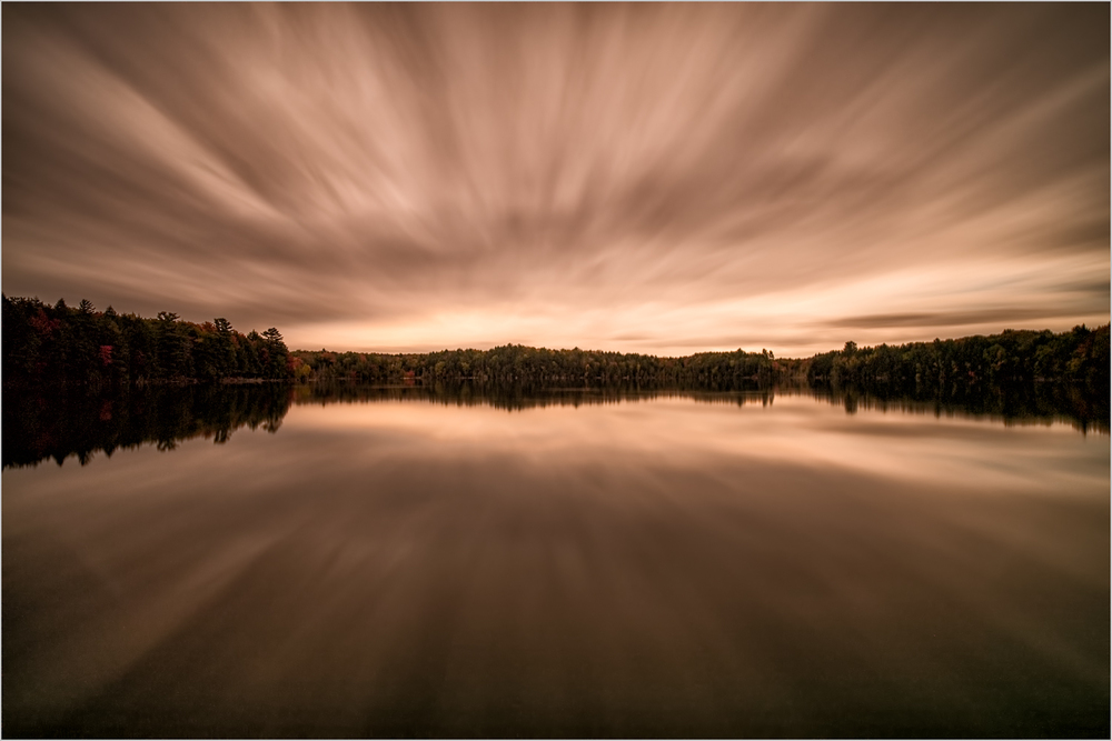 Pete's Lake, 5 Minute Exposure    © Howard Grill