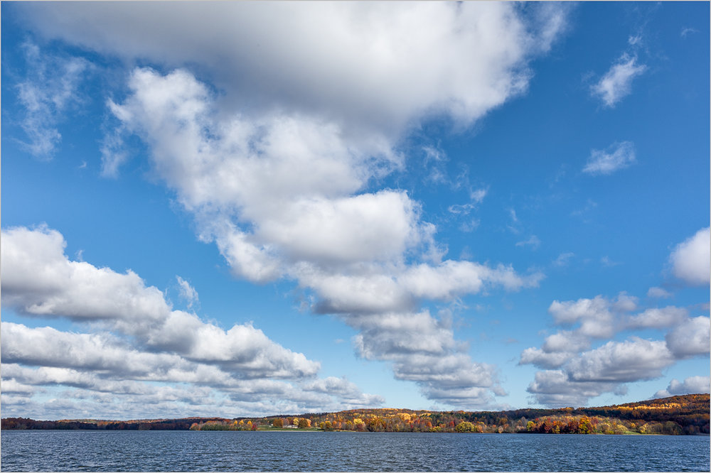 Lake Arthur And Clouds    © Howard Grill