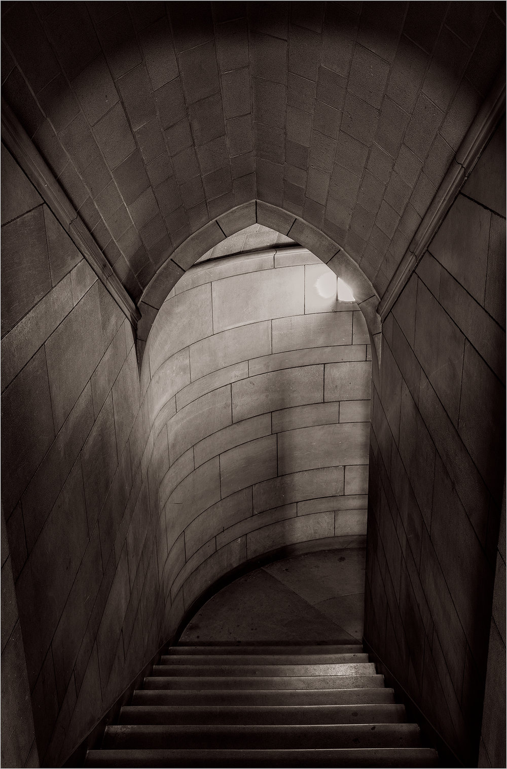 Cathedral Of Learning Stairwell © Howard Grill