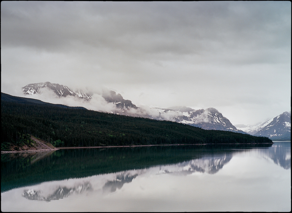 Glacier National Park, Montana       Bronica RF645; Zenzanon-RF 65mm F4; Kodak Ektar 100