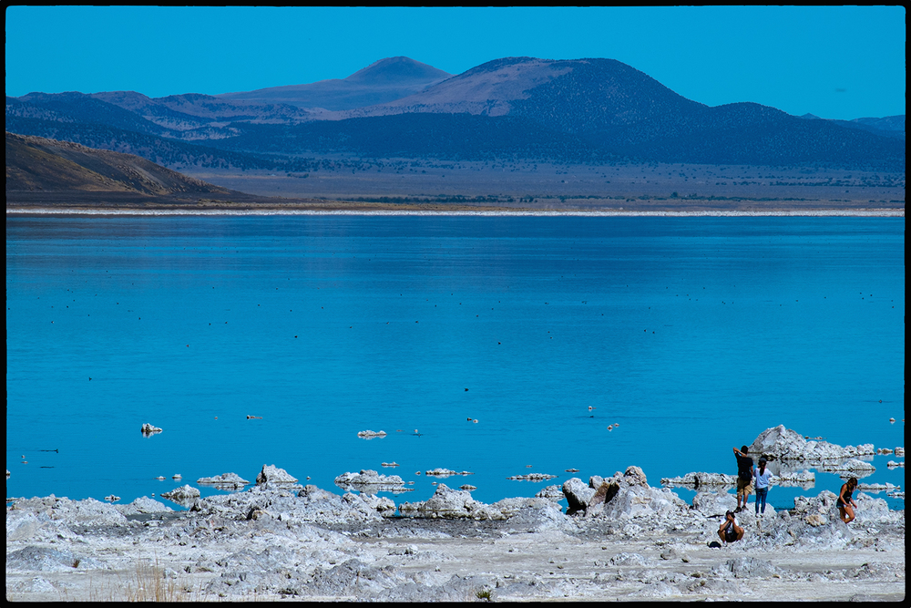 Mono Lake, California  USA Fujifilm X-Pro1; XF55-200mmF3.5-4.8 R LM OIS; f/18  1/320  200 ISO @ 200mm