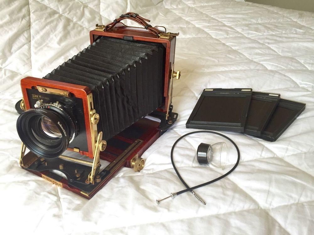 Wista Field 45DX w/ Schneider Symmar-S 210mm F5.6 lens