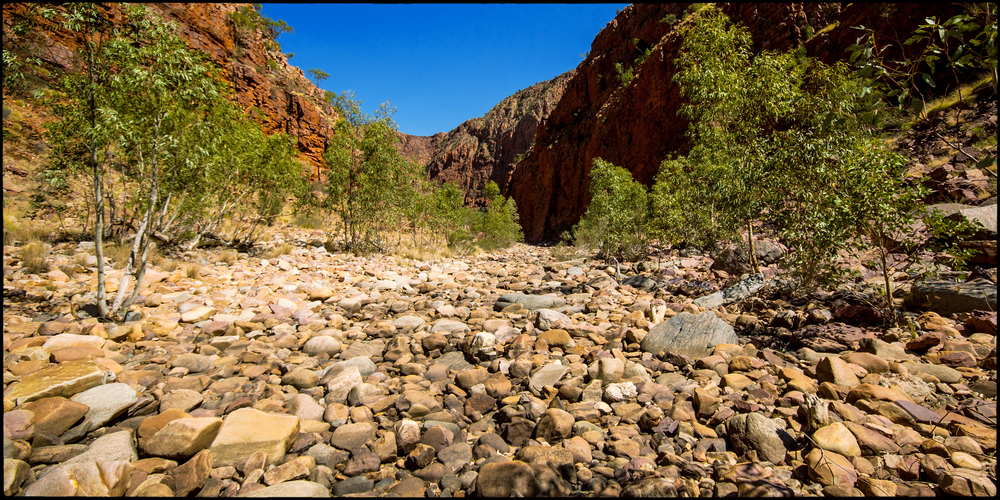 Inside Ormiston Gorge