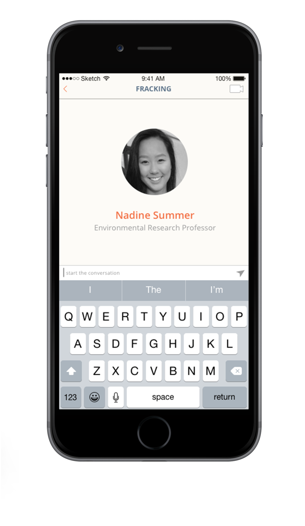For a more personal conversation users can chat with an expert.