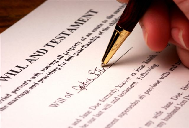 Simple Last Will and Testament