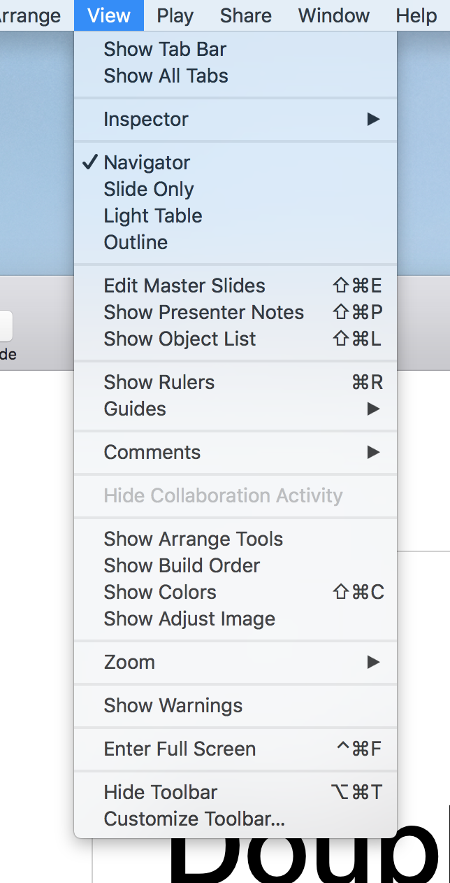 keynote view menu.png