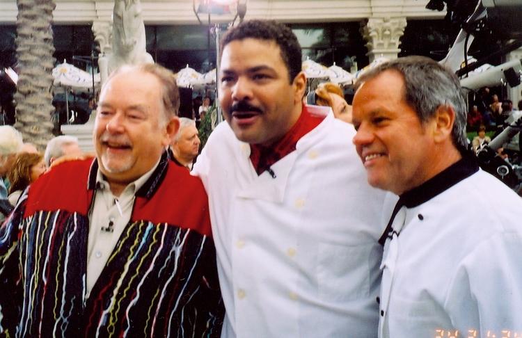 Robin Leach, Chef Juan Montier, Wolfgang Puck