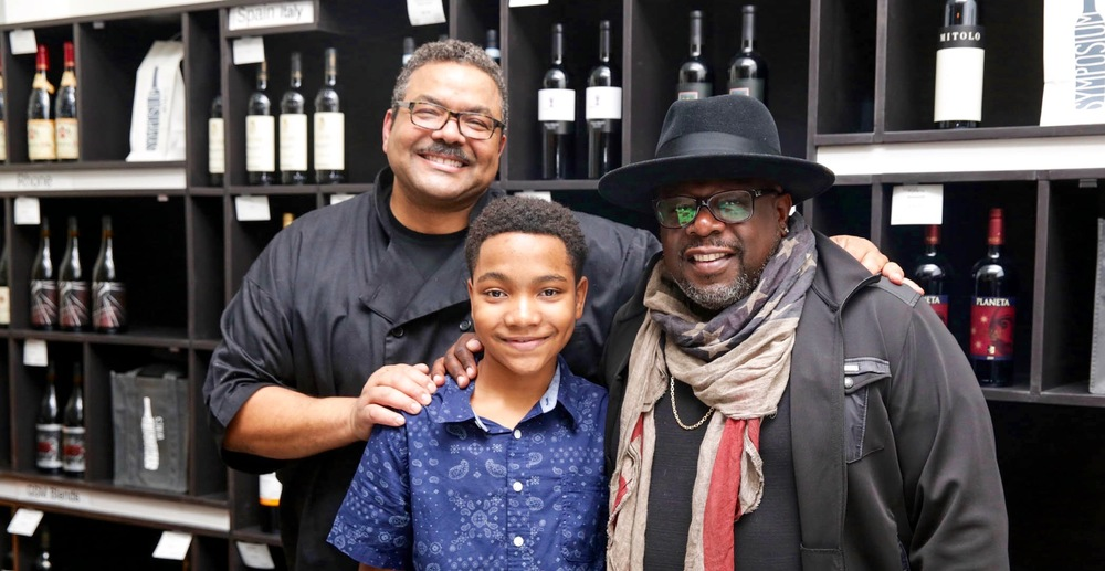 Chef Juan, Austin Montier and Cedric The Entertainer