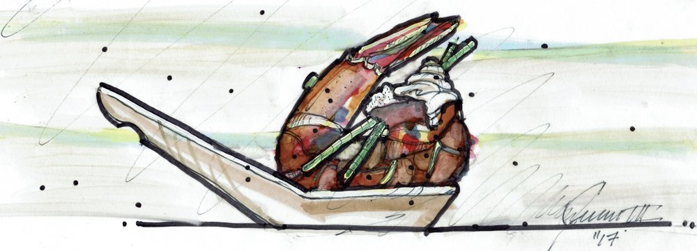 Chef Juan's Sketch for Pop Up Menu