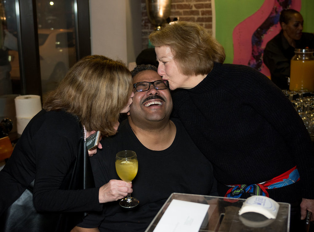 Diva Foodies kissing Juan.jpg