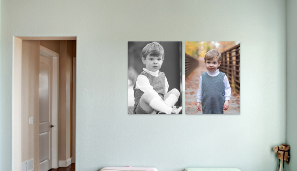 Pictures of your children in their own playroom.