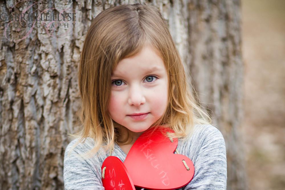 North Cary Park valentine hearts