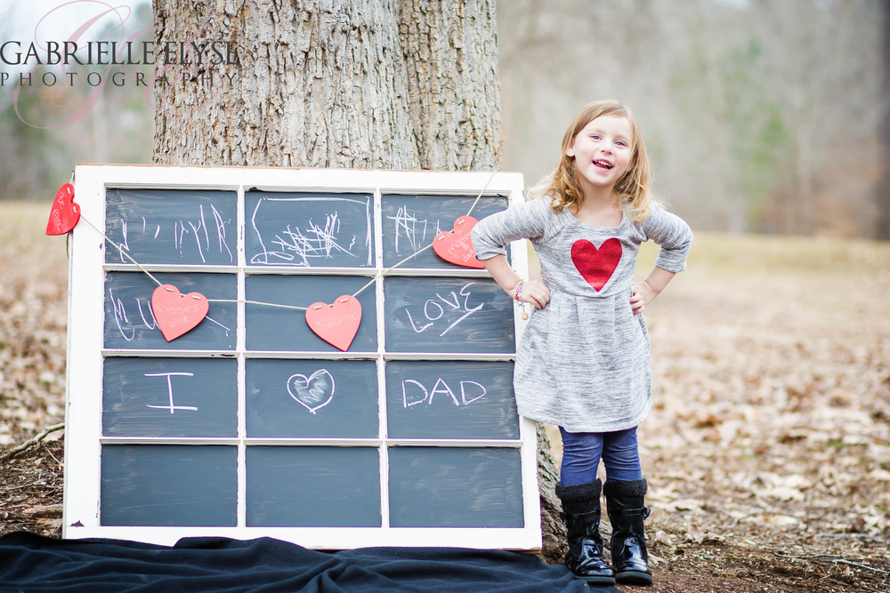 Love Dad Valentines North Cary Park