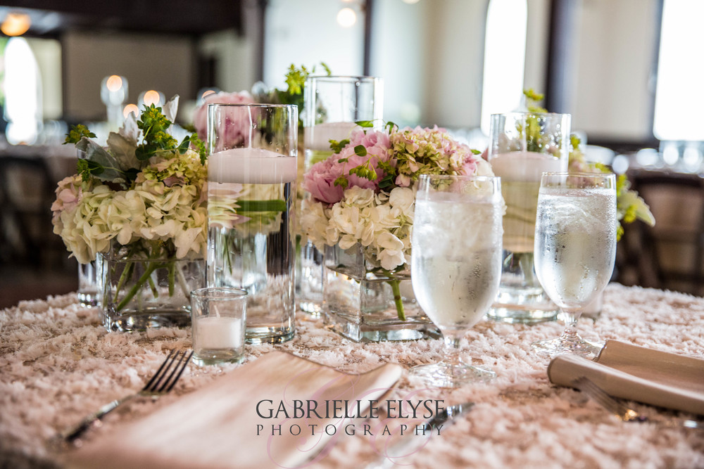 tables cape wedding reception