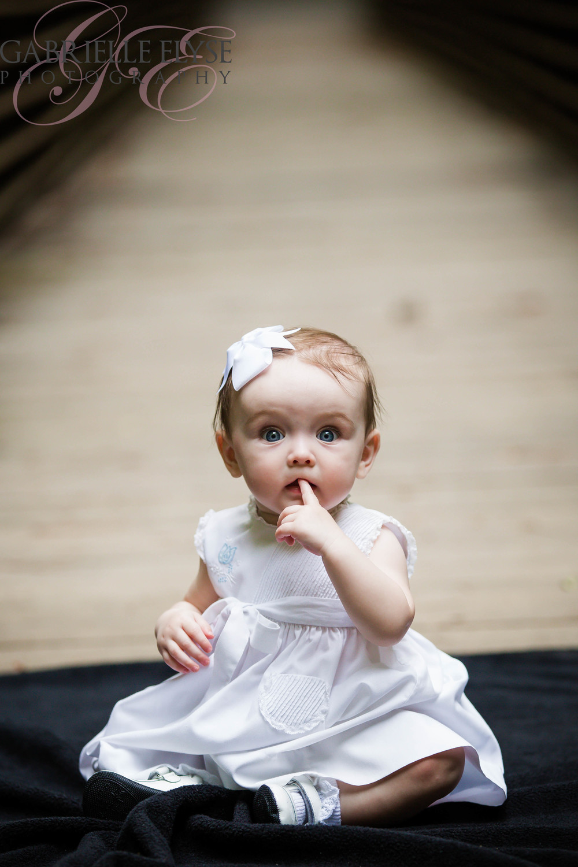 6 months old girl bridge