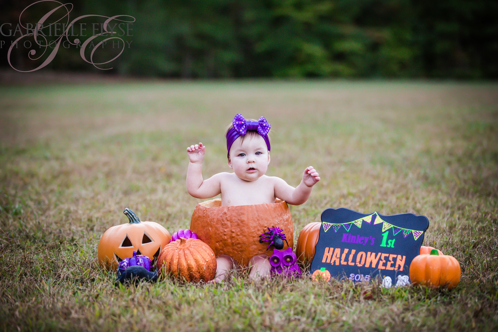 My favorite of this pumpkin in her pumpkin!