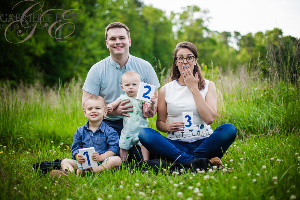 pregnancy announcement raleigh