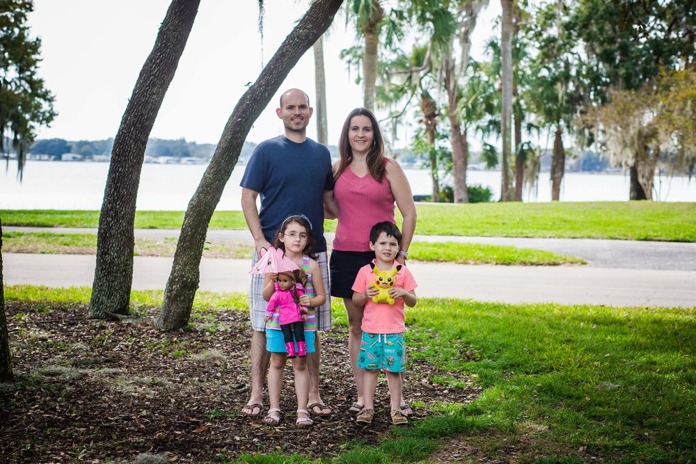 palm harbor family session