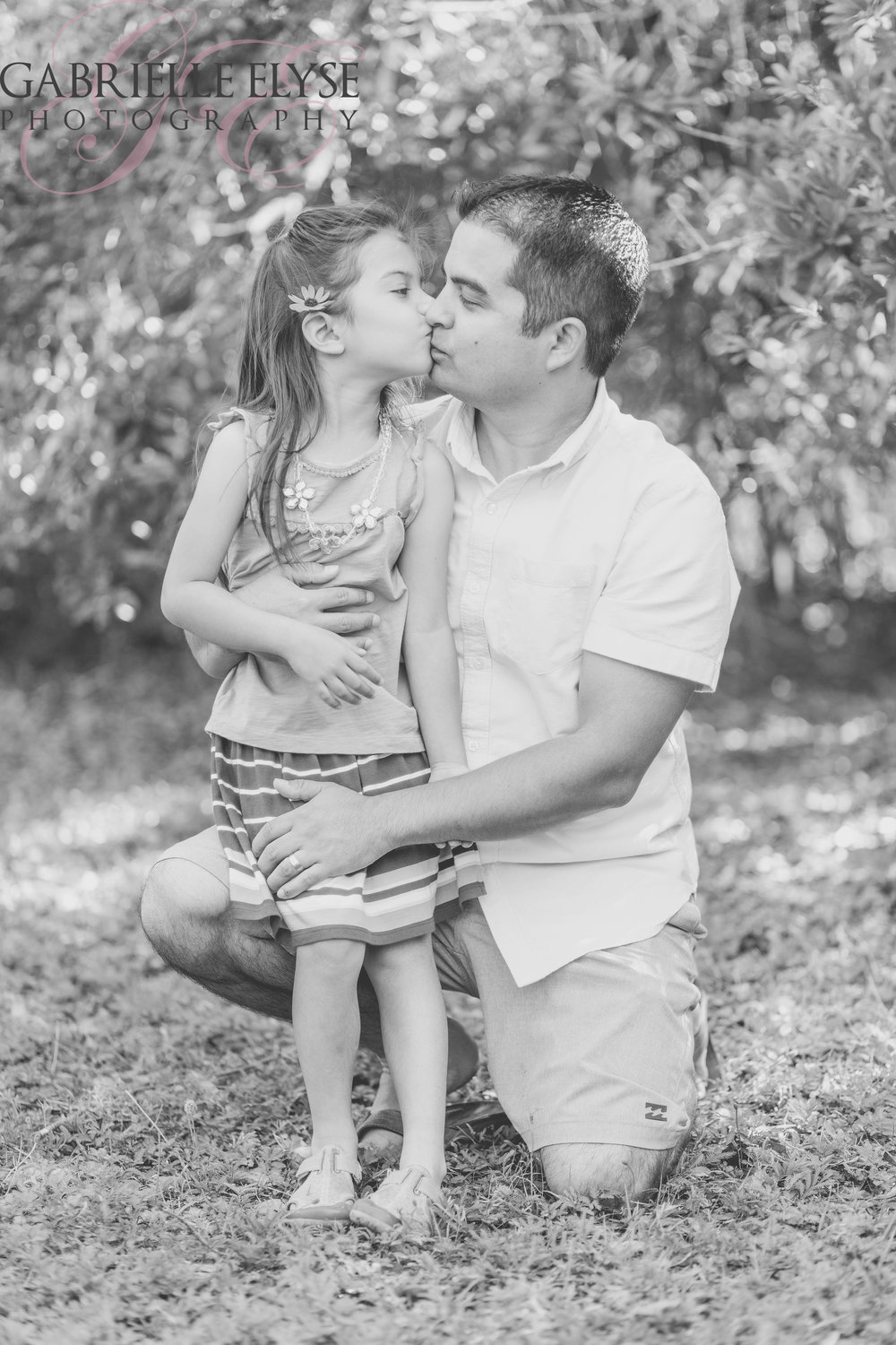 daddys girl black and white park