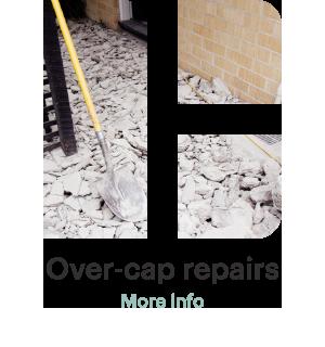 Over-cap repairs