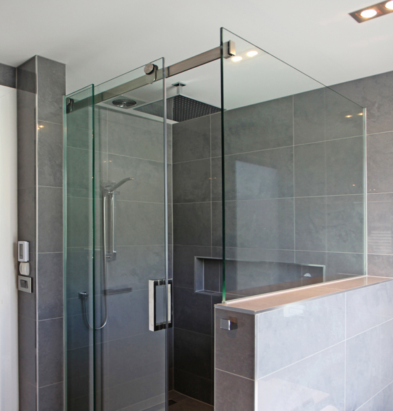 great for adding the illusion of space sliding showers are the modern alternative to the