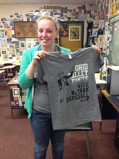 THE OFFICIAL OHIO VALLEY TONITE T-SHIRT
