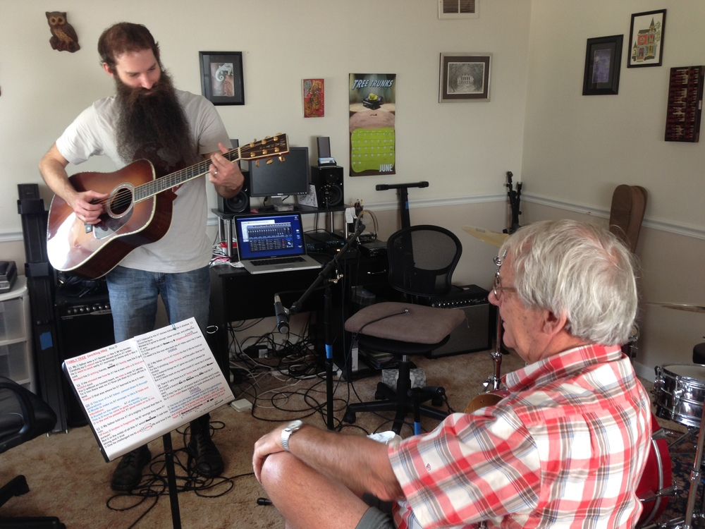 "BEHIND-THE-MUSIC CREATING THE SONG ""WORDS FROM MY FATHER"" WITH JIM AVETT & R.J. DIETRICH"