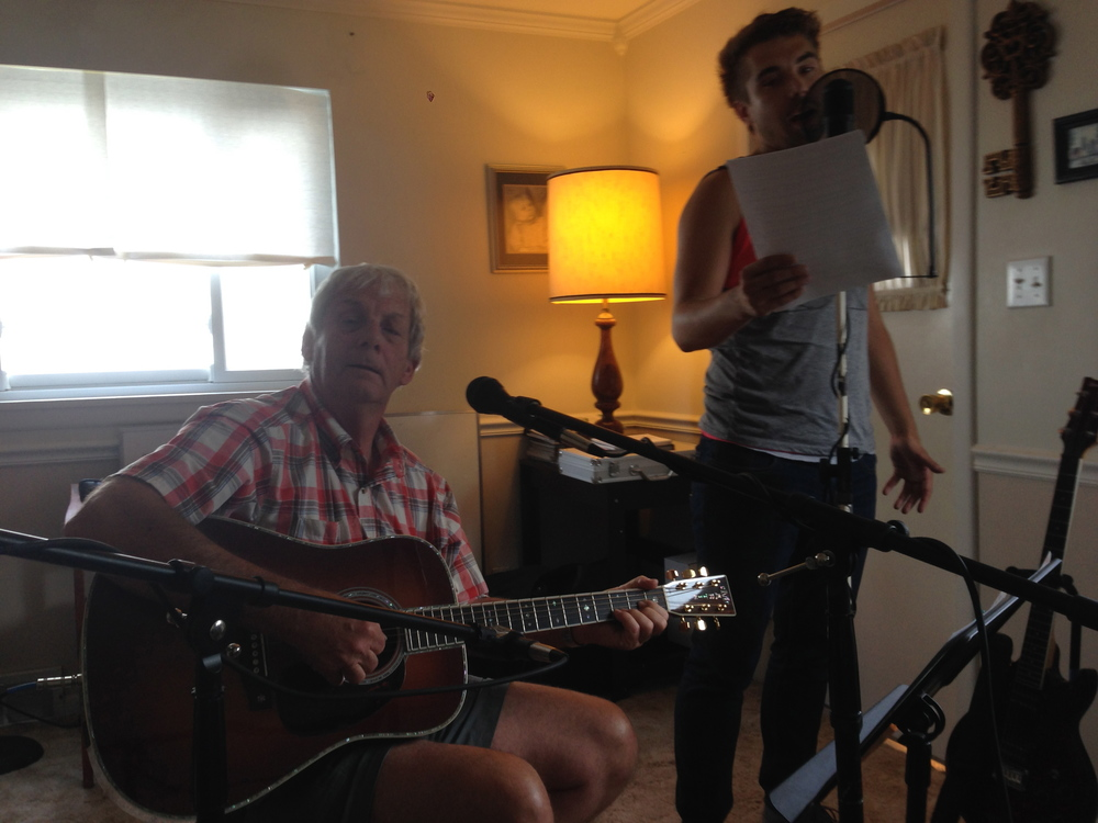 "BEHIND-THE-MUSIC CREATING THE SONG ""WORDS FROM MY FATHER"" WITH JIM AVETT"